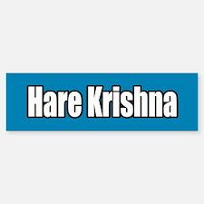 Hare Krishna Blue Bumper Bumper Bumper Sticker