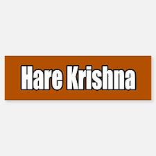 Hare Krishna Bumper Bumper Bumper Sticker