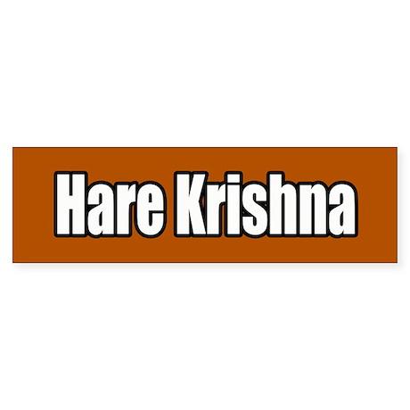 Hare Krishna Bumper Sticker