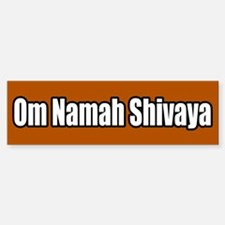 Om Namah Shivaya Bumper Bumper Bumper Sticker