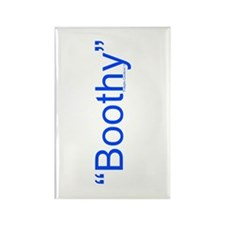 Boothy Rectangle Magnet