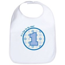 It's fun to be one! (blue) Bib