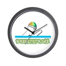 Breaststroke Wall Clock