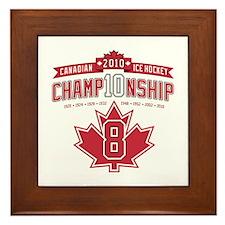 2010 Championship Framed Tile