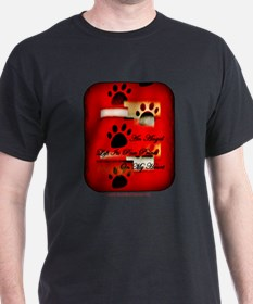 Angel Paw Prints T-Shirt