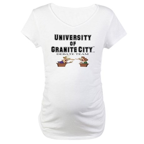 Debate Team Maternity T-Shirt