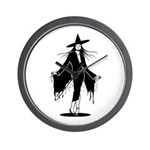 Gothic Sexy Witch Wall Clock