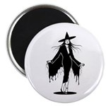 Gothic Sexy Witch Magnet
