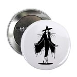 Gothic Sexy Witch Button