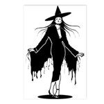 Gothic Sexy Witch Postcards (Package of 8)