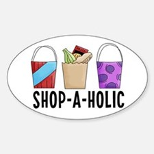 Shop-A-Holic (bags) Decal