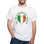 'I Am of Ireland' White T-Shirt