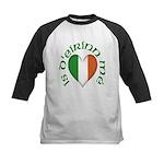 'I Am of Ireland' Kids Baseball Jersey