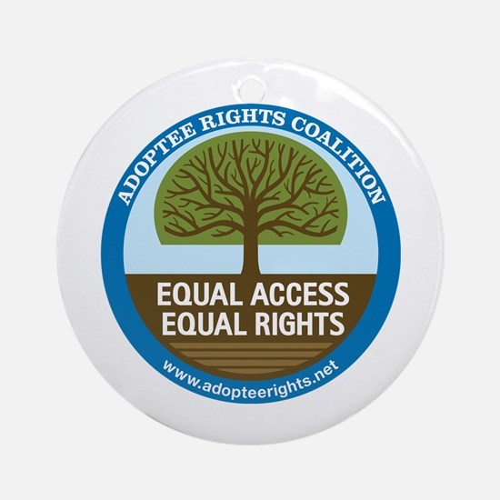 Adoptee Rights Coalition Ornament (Round)