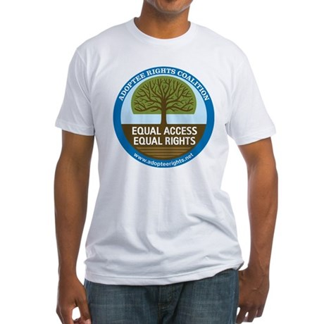 Adoptee Rights Coalition Fitted T-Shirt