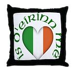 'I Am of Ireland' Throw Pillow