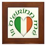 'I Am of Ireland' Framed Tile