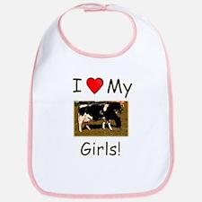 Love My Girls Bib