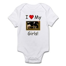 Love My Girls Infant Bodysuit
