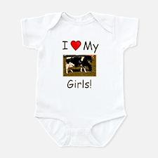 Love My Girls Infant Bodysuit