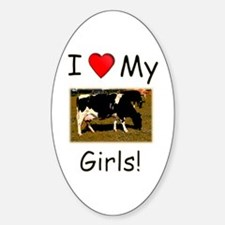 Love My Girls Decal