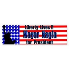 Anti-Bush New Orleans Mayor for President Bumper