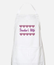 Truckers Wife With Hearts Apron