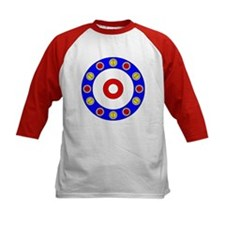Curling Circle with Rocks Tee