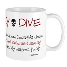 Never Knock Mug