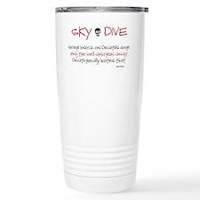Never Knock Travel Coffee Mug