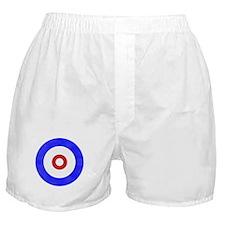 Curling Circle Ice Boxer Shorts