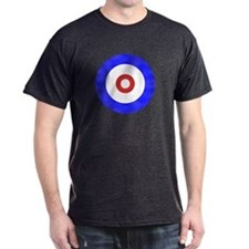 Curling Circle Ice T-Shirt