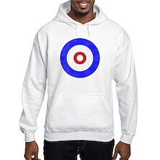 Curling Circle Ice Hoodie