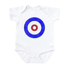 Curling Circle Ice Infant Bodysuit