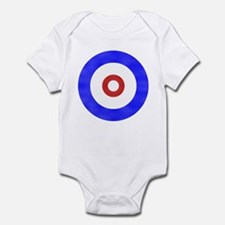 Curling Circle Ice Infant Bodysuit