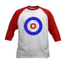 Curling Circle Ice Tee