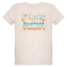 Twilight Birthday Sparkly Vam T-Shirt