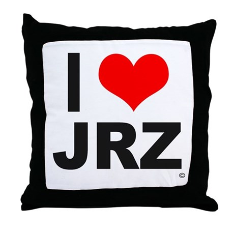 Jrz Johnny's Throw Pillow