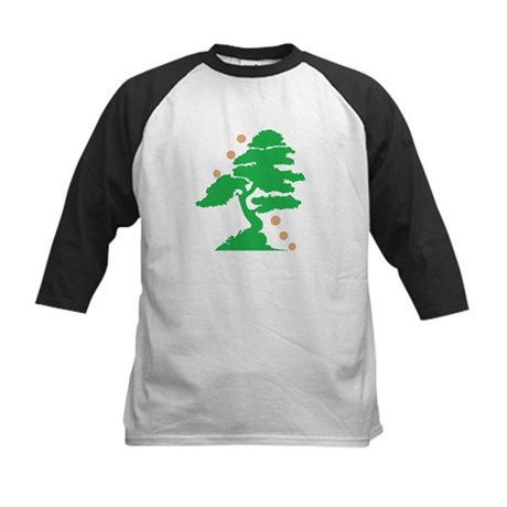 Green Tree Kids Baseball Jersey