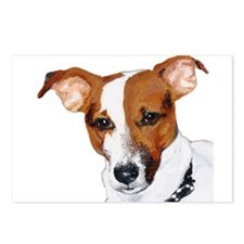 Jack Russell Portrait Postcards (Package of 8)