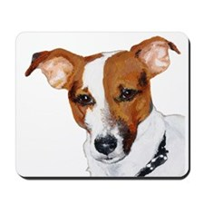 Jack Russell Portrait Mousepad