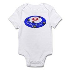 Curling Rocks! Infant Bodysuit