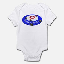 Curling Rocks! Infant Bodysuit