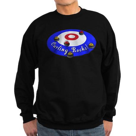 Curling Rocks! Sweatshirt (dark)
