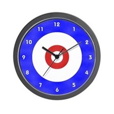 Curling Circle Ice Wall Clock