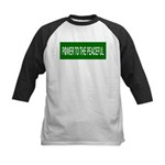 Power to the Peaceful Kids Baseball Jersey