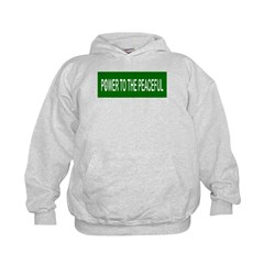 Power to the Peaceful Hoodie