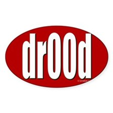 dr00d Oval Decal