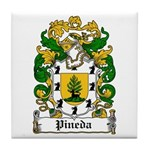 Pineda Coat of Arms Tile Coaster