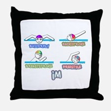 IM Throw Pillow